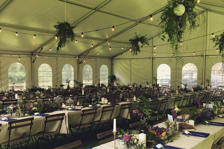 Enclosed Marquees